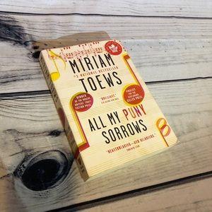3/$10 - Fiction novel All my puny Sorrows